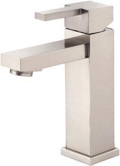 "$159.95 Max Flow Rate 1.5  plumbersstock.com Danze D225533BN Brushed Nickel 4"" Centerset Lavatory Faucet"