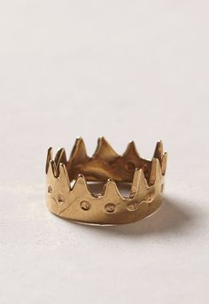 Crown ring - reminds me of Max from Where the Wild Things Are