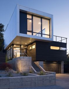 Stephenson Design Collective have designed the Madrona House, a home for a family in Seattle, Washington.
