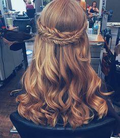 Hoco hair?