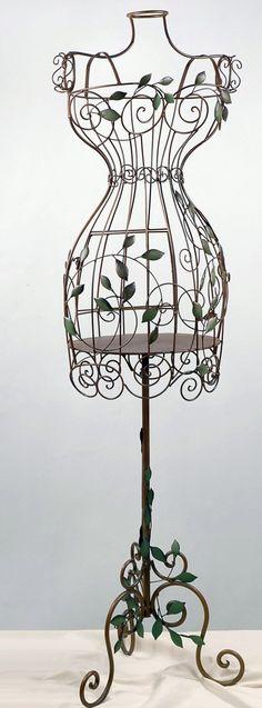 Wire Bird Cage Mannequin 60 in. tall $66