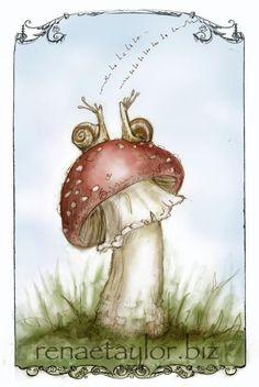 Snails! I should paint that too!