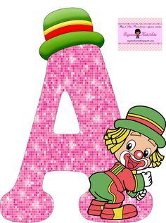 EUGENIA - KATIA ARTES - BLOG DE LETRAS PERSONALIZADAS E ALGUMAS COISINHAS: Alfabeto Patati e Patata Rosa