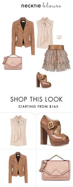 """""""Untitled #8257"""" by erinlindsay83 ❤ liked on Polyvore featuring MaxMara, GUSTA, Michael Kors, Balenciaga, Karl Lagerfeld and Accessorize"""