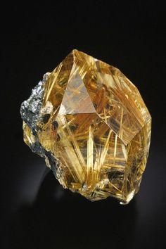 Golden Rutilated Quartz Faceted Cut Round Stone 11.5-12 MM Rutilated Quartz Cuts #5289 3 Pcs Golden Rutilated Quartz Gemstone Cut Stone