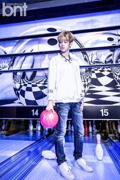 Boyfriend Young Min - bnt International November 2014
