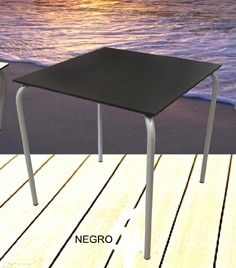 MESA ACERO COMPACTO 70X70 Stool, Table, Furniture, Home Decor, Decks, Steel, Mesas, Decoration Home, Room Decor