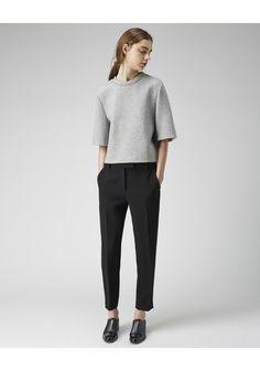 3.1 Phillip Lim / Cropped Boxy T-Shirt  |   La Garçonne | La Garconne