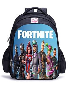 99745f87e6e Memoryee Fortnite 3D Game Printing Unisex School Bag Collection Canvas  Backpack Laptop Book Satchel Hiking Bag - 15L 32 x 17 x 42 cm Fortnite04-big