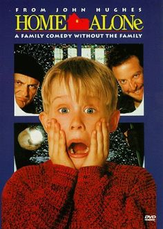 Home Alone (1990)~ Guys, I'm eating junk and watching rubbish! You better come out and stop me!