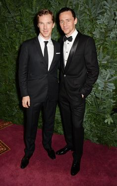 """Pin for Later: Are These Hot Stars Shorter Than You Think? Benedict Cumberbatch = 6'0"""", Tom Hiddleston = 6'2"""""""