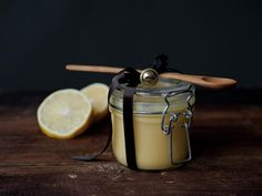 Home made lemon curd as gift All Things Christmas, Christmas Gifts, Clotted Cream, Lemon Curd, Marshmallows, Afternoon Tea, Kettle, Food And Drink, Sweets