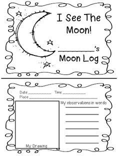 First Grade Wow: Observing the Night Sky with Splat! Kindergarten Science, Elementary Science, Science Classroom, Science Education, Teaching Science, Science Chemistry, Kids Education, Classroom Decor, Moon Activities