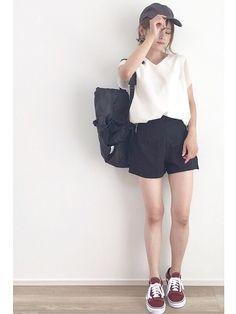 旅行コーデ🎵 Instagramには前インしてないバージョン載せたけど、途中、前インに変えたから撮り直して見ました🤗   Instagram、アメブロもよろしくお願いします🙇♀️  Instagram➡︎ @yun_wear http://instagram.com/yun_wear  アメブロ➡︎http://ameblo.jp/yun-wear?frm_id=v.jpameblo&device_id=fadace4e42af4486a954afb4549ff3da
