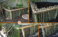 If you want to make a raised garden bed but don't want to spend the money on a costly raised garden kit, then this natural wood raised garden bed is for you!  Learn how it's made by viewing the full album of this project including a link to instructions on our site at http://theownerbuildernetwork.co/2u39  Do you have any suggestions on how this can be improved?