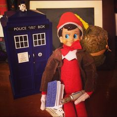 Doctor Who Elf on the Shelf ~ The Eleventh Doctor
