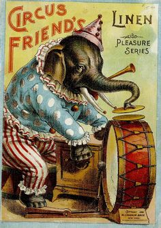 """Circus Friends"" (1898) McLoughlin Brothers Publishers"
