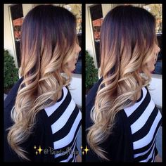 ♥♥ Love dip dyed hair, even if its ginger @Sarah Chintomby Chintomby Nasafi Shugaa