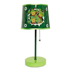 Disney® Ninja Turtle Stick Lamp - Christmas Tree Shops and That! - Home Decor, Furniture & Gifts Store Ninja Turtle Room, Ninja Turtles, Kids Bedroom Sets, Kids Room, Bedroom Ideas, Disney Lamp, Man Room, Kids Decor, Home Decor