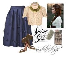 """""""so boho"""" by shalinisemail on Polyvore featuring self-portrait, Casetify and Joie"""