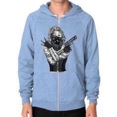 Marilyn Monroe 'Gangstified' Zip Hoodie (on man)