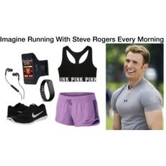 Imagine Running With Steve Rogers Every Morning