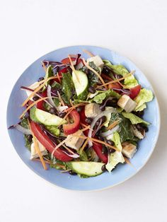 A Salad That Makes You Lose 10 Pounds - Hungry Girl Salad Recipes - Redbook
