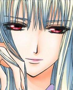 Vampire Knight - Shizuka Hio. Love those red/pink eyes of hers