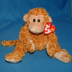 Ty Beanie Baby Fumbles - MWMT (Monkey 2004) #TY #BeanieBaby