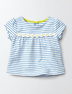 Pretty Trim T-Shirt 71610 T-shirts at Boden