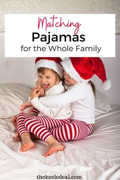 Matching Pajamas for the whole family, fun Christmas pajama options for Christmas time. Family Christmas, Christmas Photos, Christmas And New Year, All Things Christmas, Christmas Crafts, Matching Christmas Pajamas, Matching Pajamas, Christmas Eve Traditions, New Years Party