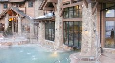 The Grand Lodge on Peak 7 offers its guests the most luxurious amenities including multiple indoor/outdoor pools including a children's pool, an adults only relaxation area, The Grotto and several landscape-inspired hot tubs.