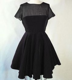 ALSO WANT /// Milly Black Fit & Flare Dress by The Kelly King Collective on Scoutmob Shoppe