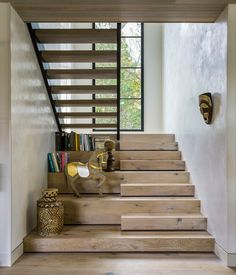 Awesome 30 Stunning Wooden Stairs Design Ideas For Your Home source : ideabosdecoration…