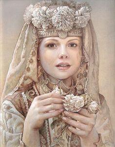 Maria llieva (1973 - …) – Pintora Búlgara_16
