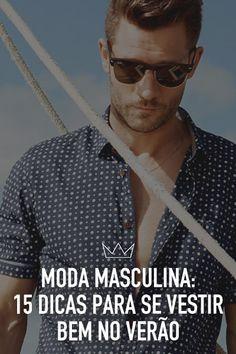 moda masculina. dicas, verão, calor