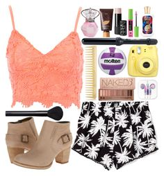 """Untitled #155"" by steph-gal ❤ liked on Polyvore featuring Jane Norman, Victoria's Secret PINK, Caterpillar, Eva NYC, NARS Cosmetics, Maybelline, tarte, Fujifilm, Hot Topic and AERIN"