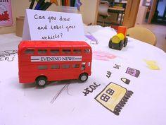 London Activities, Eyfs Activities, Writing Activities, Preschool Activities, Party Food Themes, Casino Theme Parties, Eyfs Curriculum, Read Write Inc, Transport Topics