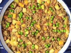 Sweet Aussie beef curry recipe - By Australian Women's Weekly Minced Beef Recipes, Mince Recipes, Beef Curry, Vegetarian Curry, Curry Mince Recipe, Sweet And Sour Beef, Ricotta Stuffed Chicken, Savoury Mince, Sweet Potato Curry