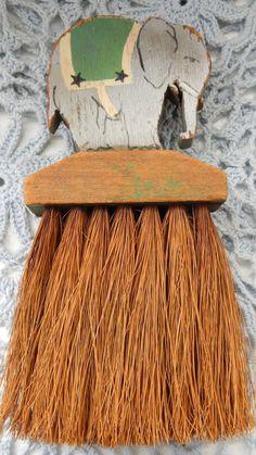 Antique Whisk Broom Whisk Broom Elephant by DockOfTheBayVintage, $40.00