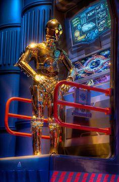 """It's Not My Fault"" Star Tours tomorrowland disneyworld from Michaela Hansen at www.toursdepartingdaily.com"