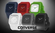 Clocked In: Converse Clocked Watch