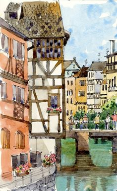 """Petite France"" ~ Shari Blaukopf"