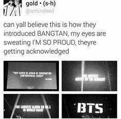 I'm so proud