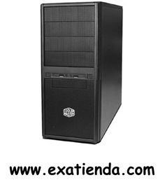 "Ya disponible Caja semitorre cp250 Cooler master negra   (por sólo 54.99 € IVA incluído):   -Formato:Semi-Torre ATX -Bahias externas: 4 x5.25"" 1 x 3.5"" -Bahias internas: 5 x 3.5"" -Conectores frontal: 2 x USB 2.0 1 x Mic 1 x auricular -Ventilador adicional:     * Front: 80/90/120mm fan x 1(optional)     * Rear: 80/90/120mm fan x 1(optional)     * Side: 80/90/120mm fan x 2(optional)  -Fuente:500W(con ventilador de 12cm) -Medidas (anch x alt x prof ):180 x 415 x 420 mm -Disp"