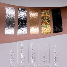 See that super dazzling holographic gold?  It's FREE with all orders until Midnight EST tonight!  PERFECT for #NewYearsEve Makeup looks! No code required! Don't miss out!  Get LIT!  Shop Link in bio!