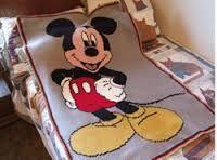free mickey mouse crochet blanket patterns ile ilgili görsel sonucu