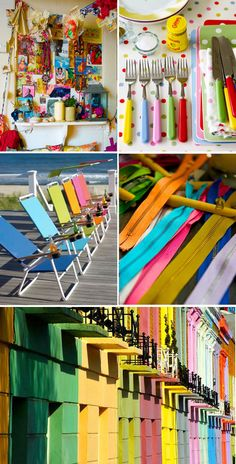 bands of color inspiration board