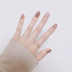 Nail art Christmas - the festive spirit on the nails. Over 70 creative ideas and tutorials - My Nails Minimalist Nails, Basic Nails, Simple Nails, Nail Swag, Nails Now, My Nails, Cute Nails, Pretty Nails, Korean Nail Art