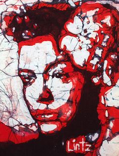 Billy Holiday in Red by Musik Gallery